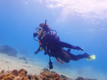 体験ダイビング。心の扉開放